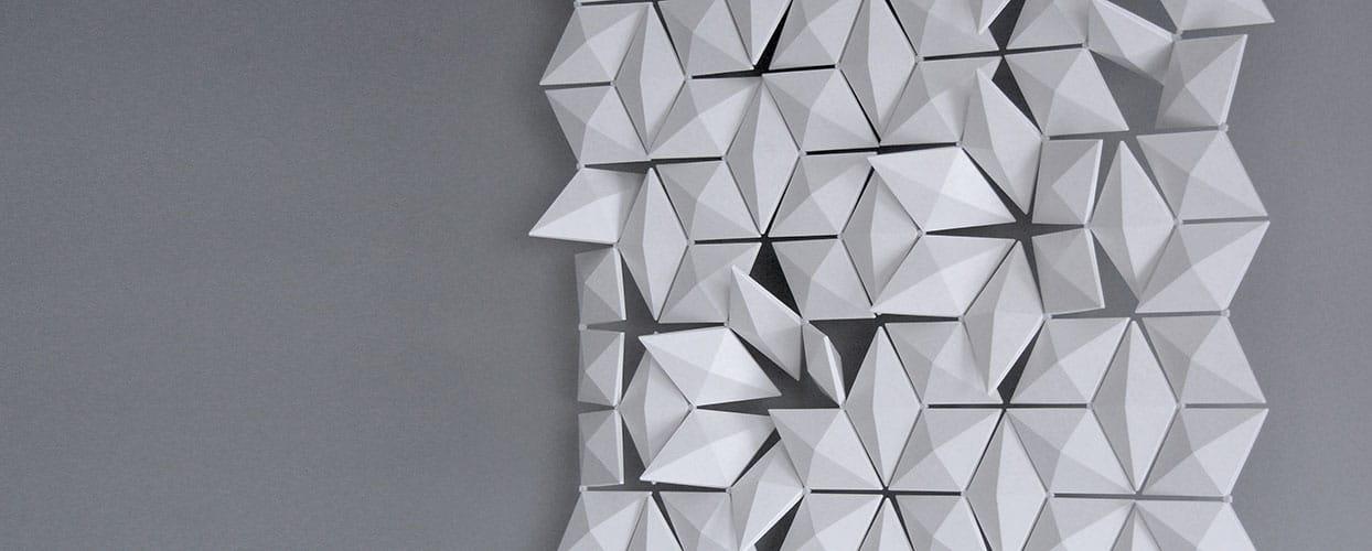 A spectacular decorative wall panel design