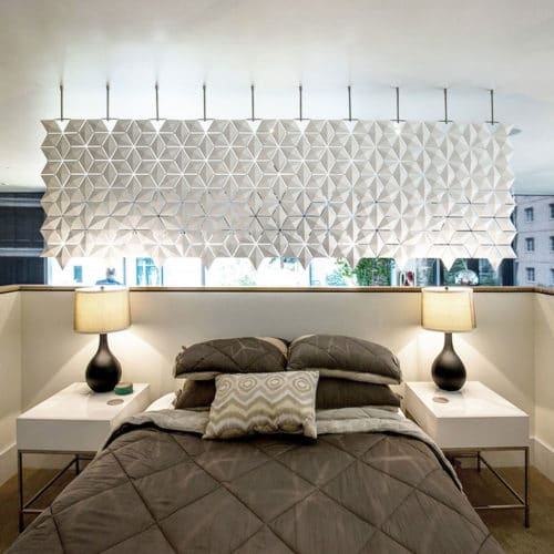 Bedroom and living room divider which is breathtaking