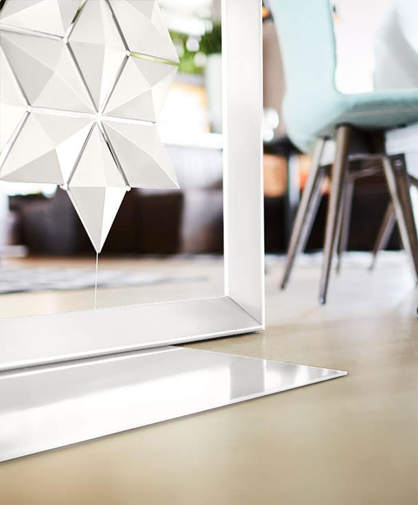Freestanding room divider Facet - sustainable & durable materials