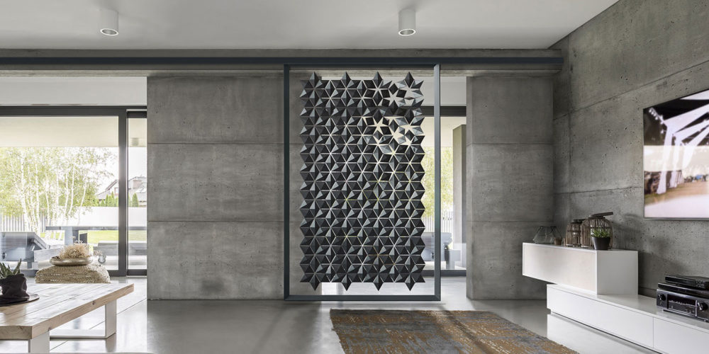 Unique sliding wall divider for maximum flexibility