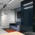 Divisore per corridoi Facet colore Bianco e larghezza 170 cm x altezza 207 cm